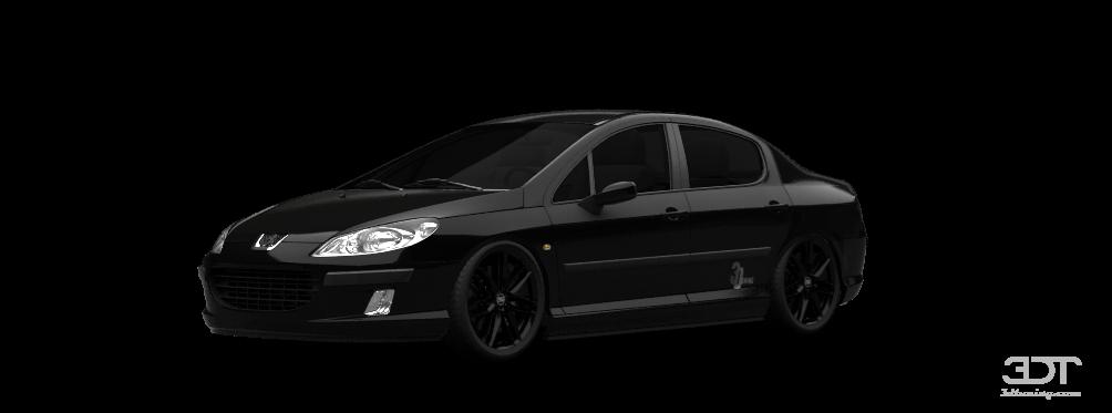 Peugeot 407 Sedan Sedan 2004 tuning