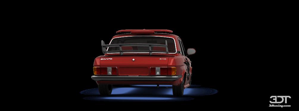 GAZ Volga 3102 Sedan 1982 tuning