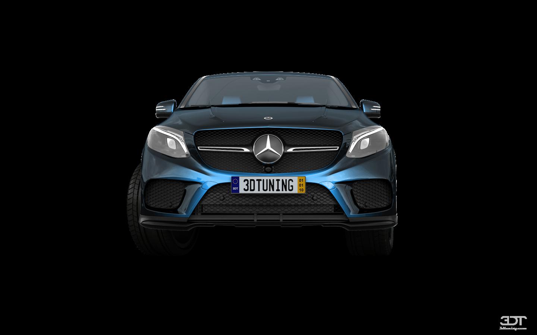 Mercedes GLE Coupe SUV 2016