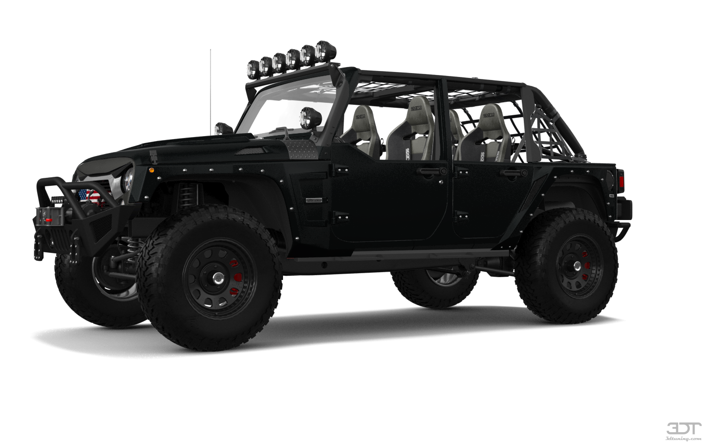 Jeep Wrangler Unlimited JK Rubicon Recon'17