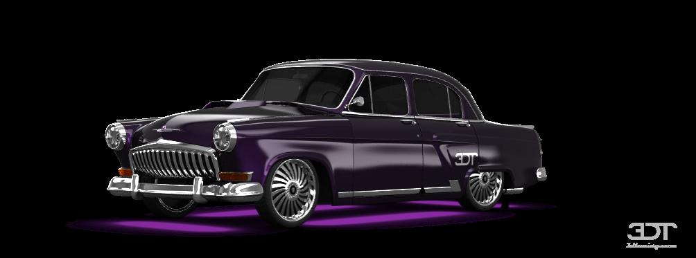 GAZ 21 Volga Sedan 1962 tuning