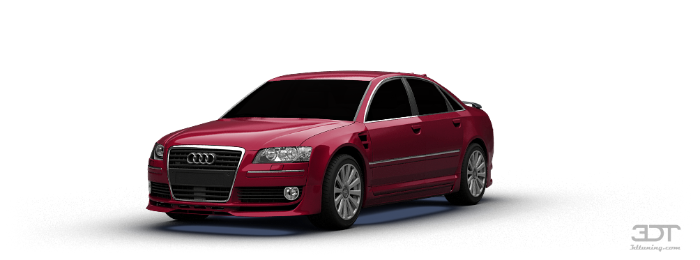 3dtuning of audi a8 sedan 2007 unique on line car configurator for more than 600. Black Bedroom Furniture Sets. Home Design Ideas