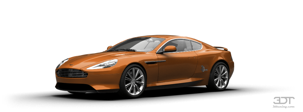 Aston Martin Virage Coupe 2012 tuning