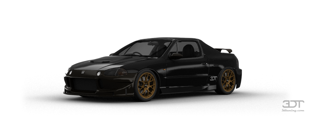 Honda CR-X Del Sol SiR Coupe 1995 tuning