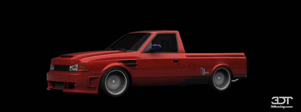 Moskvich 2335 Pickup 1993 tuning