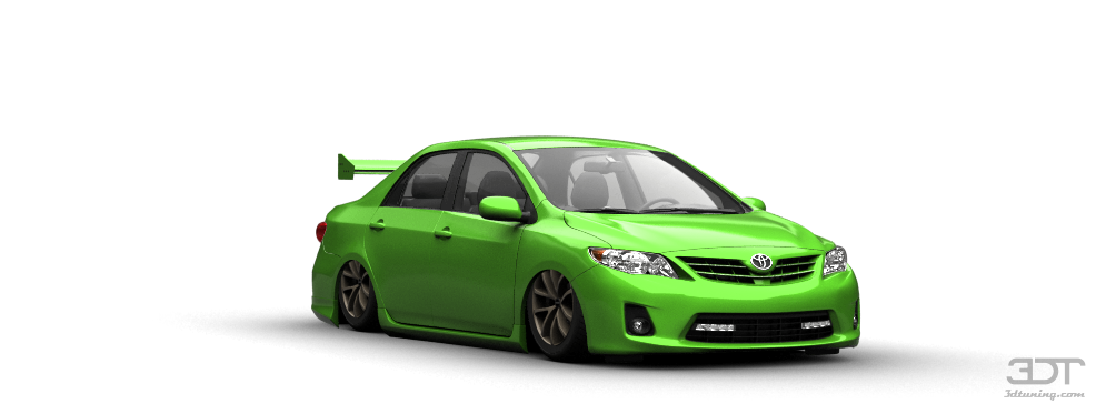 Tuning Toyota Corolla 2012 Online Accessories And Spare