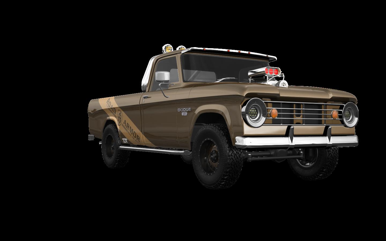 Dodge Power Wagon W200 2 Door pickup truck 1966 tuning