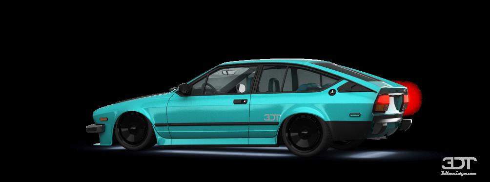 Alfa Romeo GTV6 3 Door 1986 tuning