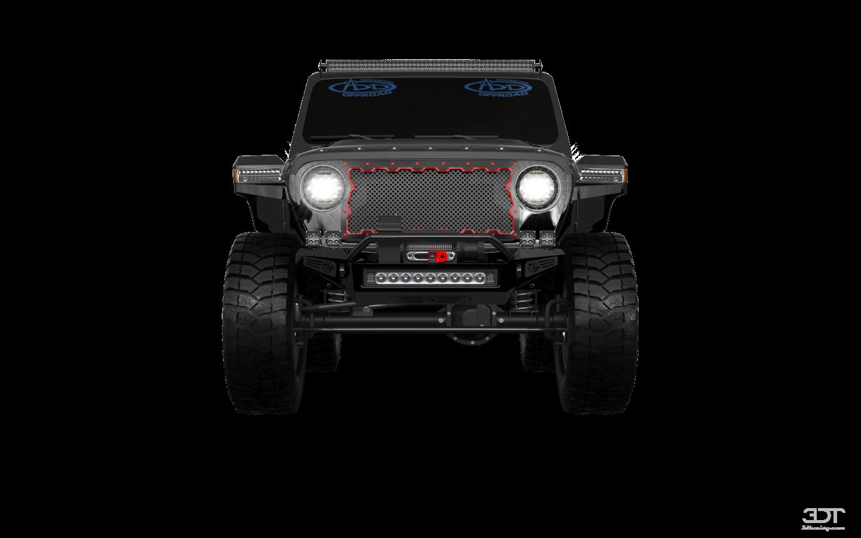 Jeep Wrangler JL 2 Door'18