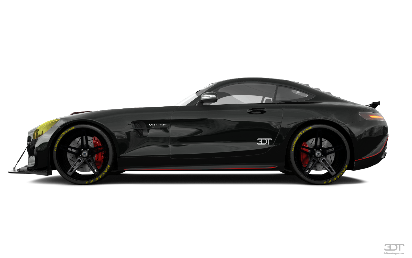 my perfect mercedes amg gt.
