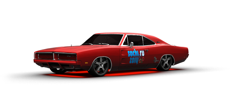 Dodge Charger Coupe 1969 tuning