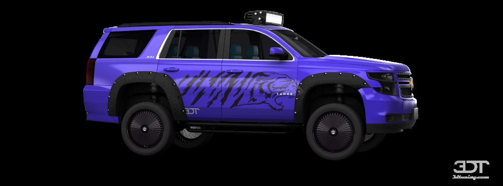 Chevrolet Tahoe Z71 SUV 2015 tuning