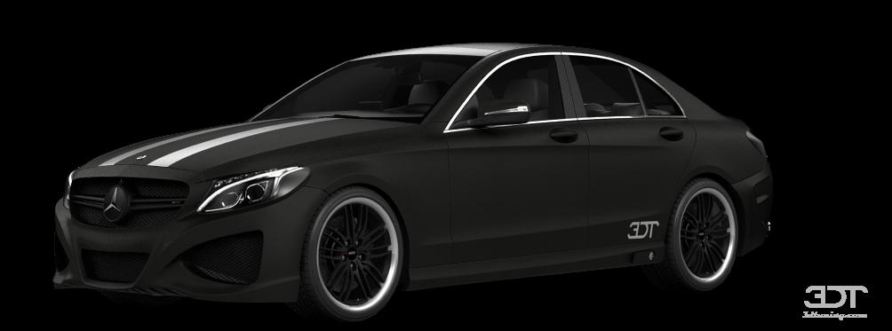 Mercedes C63 S Sedan 2015 tuning