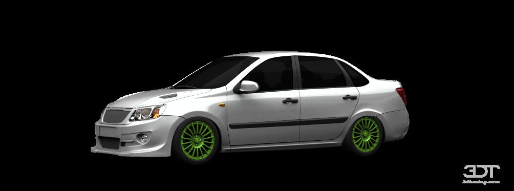 Lada Granta Sport sedan 2012 tuning