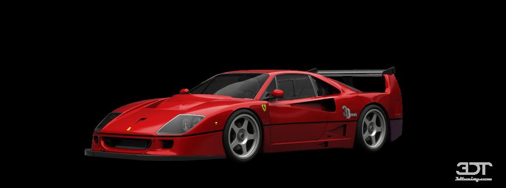 Ferrari F40 Competizione Coupe 1989 tuning