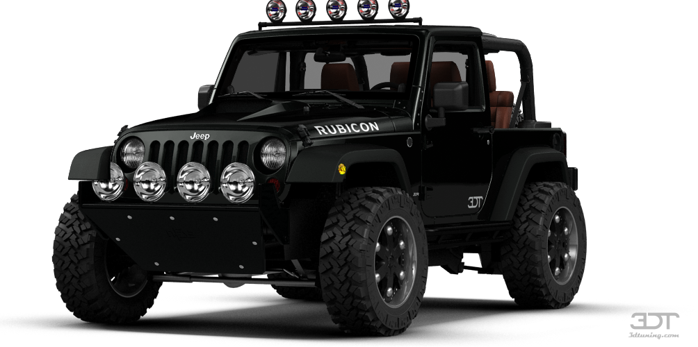 3dtuning Of Jeep Wrangler Rubicon Convertible 2013