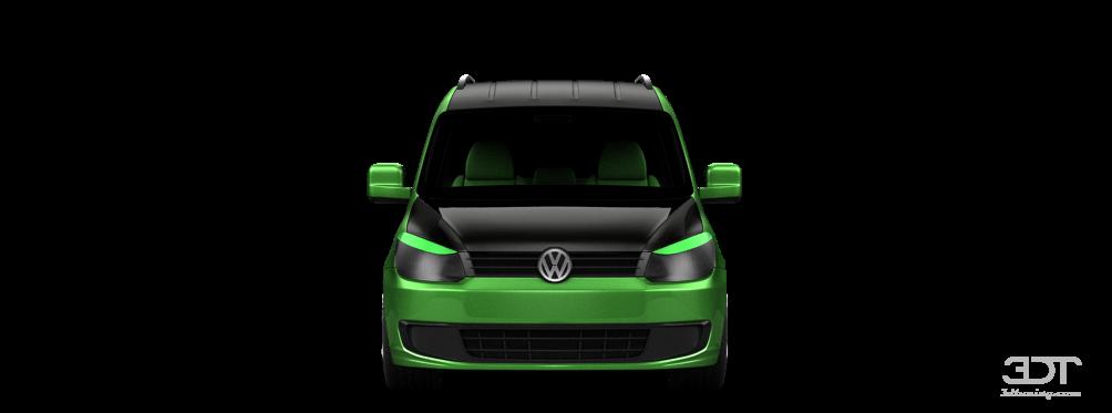 Volkswagen Caddy (facelift)'10