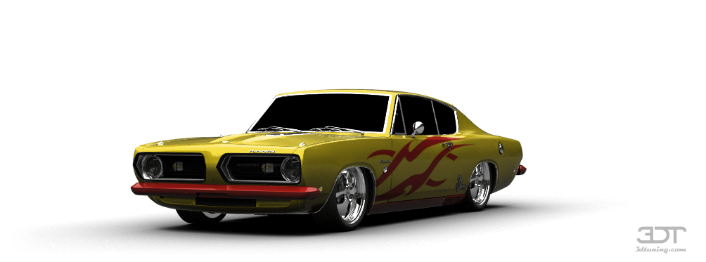 Plymouth Barracuda Coupe 1968 tuning