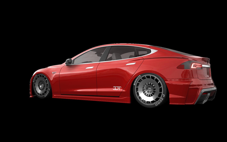 Tesla Model S 5 Door Liftback 2013 tuning