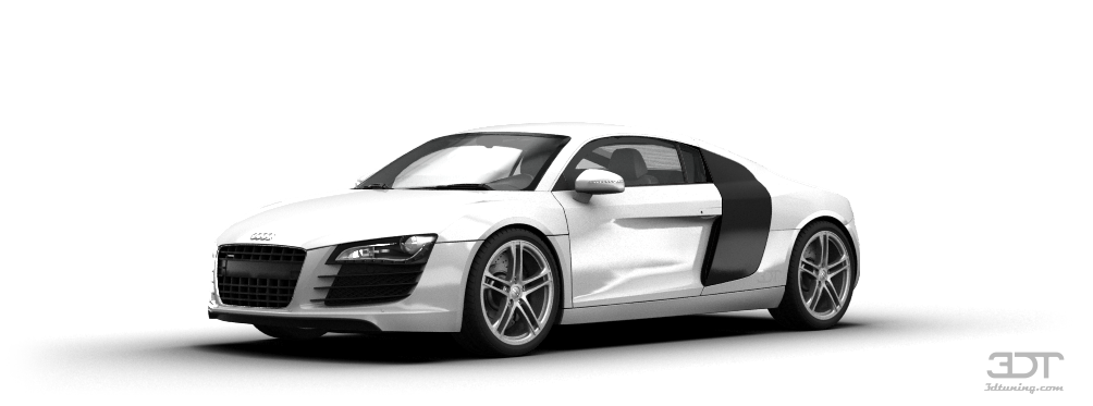 audi r8 coupe 2007 tuning