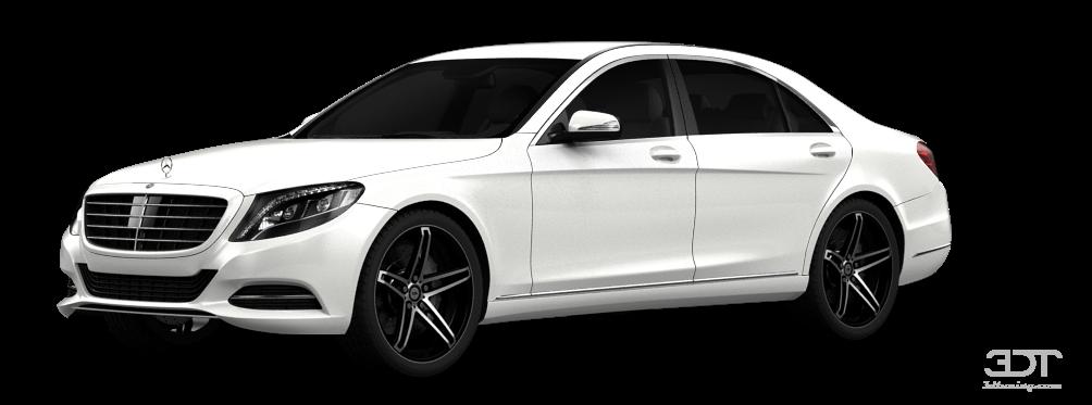 Mercedes S class sedan 2014 tuning
