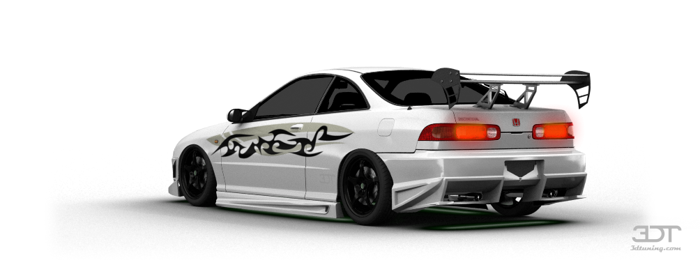 Honda Integra Type-R Coupe 2000 tuning