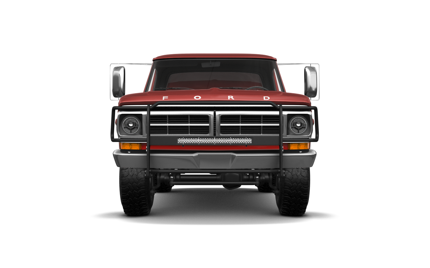 Ford F-250'71