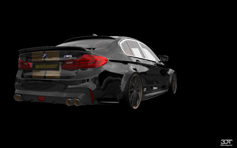 BMW 5 Series 4 Door Saloon 2017 tuning