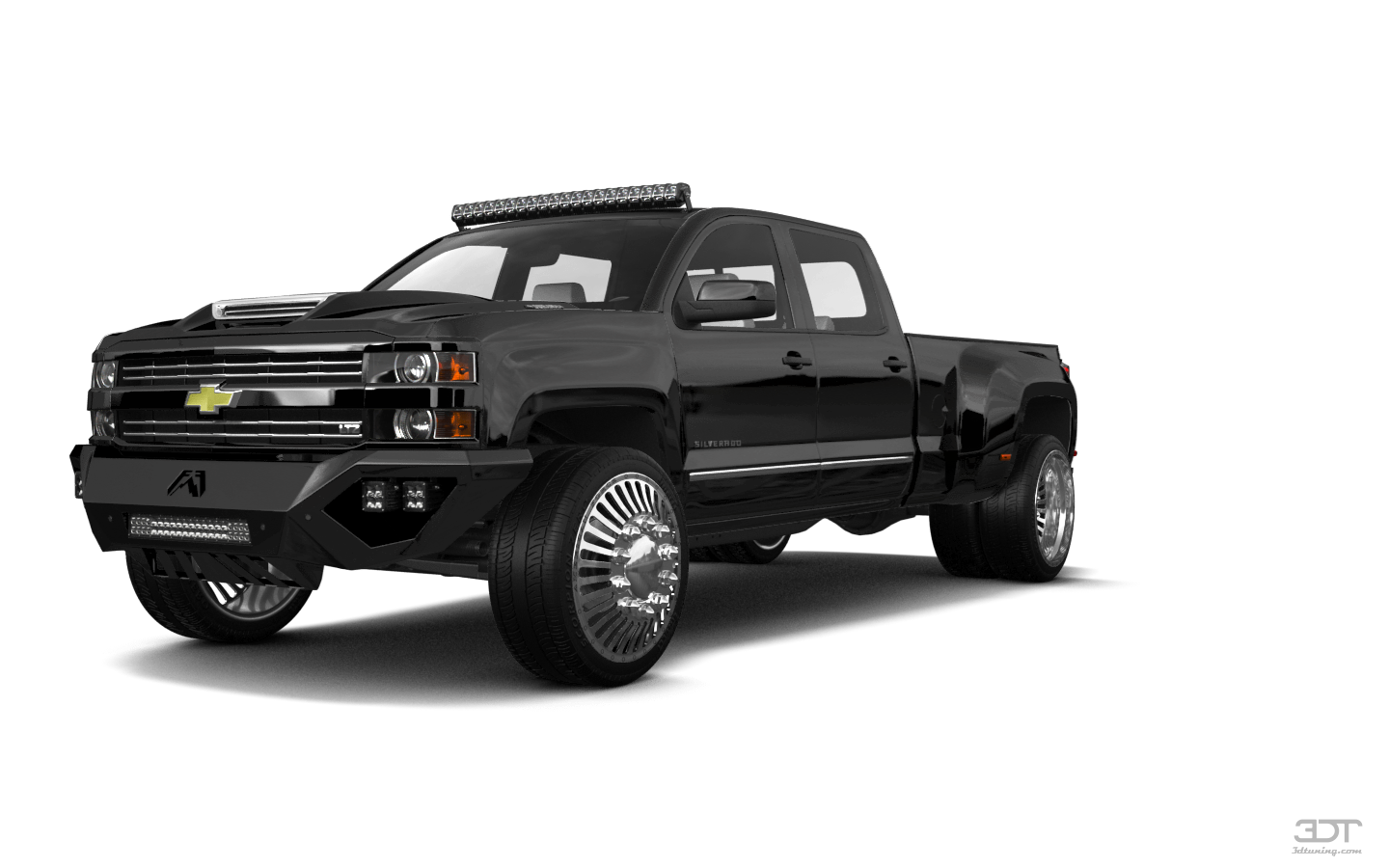 Chevrolet Silverado 3500 4 Door pickup truck 2015 tuning