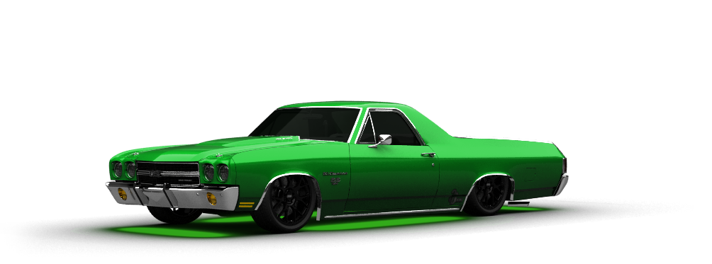Chevrolet El Camino SS-454 Coupe 1970 tuning