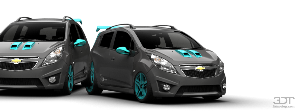 3DTuning of Chevrolet Spark 5 Door Hatchback 2011 3DTuning