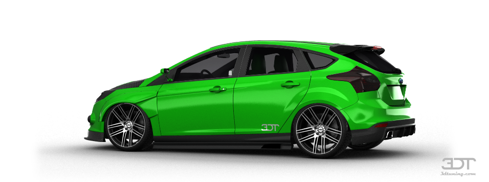 2002 ford focus green paint