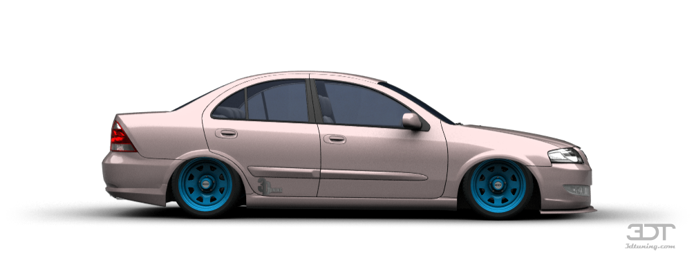 3DTuning of Nissan Almera Classic Sedan 2006 3DTuning.com - unique