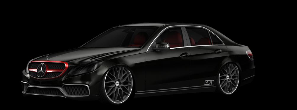 Mercedes E class Sedan 2014 tuning