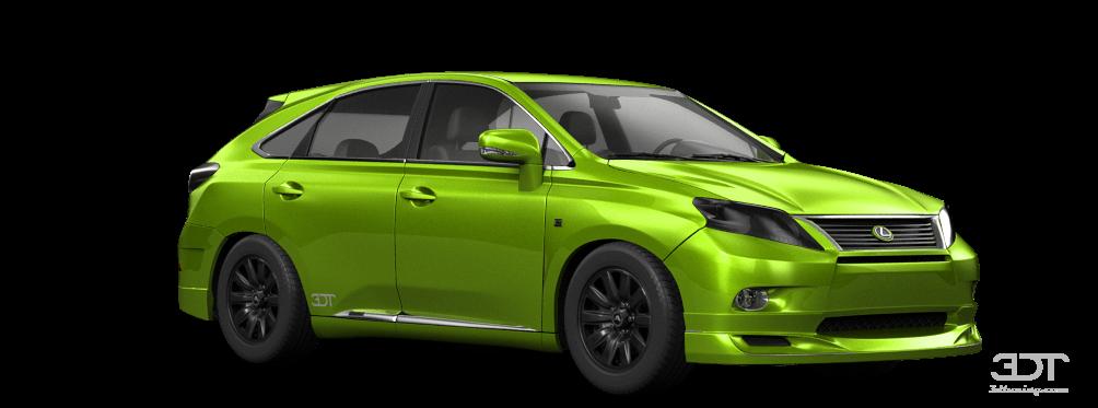 Lexus RX Crossover 2012 tuning