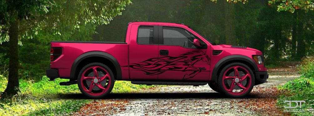 Ford F 150 Wheels >> 3DTuning of Ford F-150 SVT Raptor SuperCab Truck 2013 ...