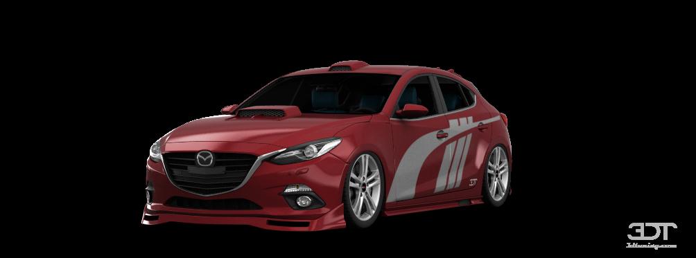 3dtuning Of Mazda 3 5 Door Hatchback 2014 3dtuning Com