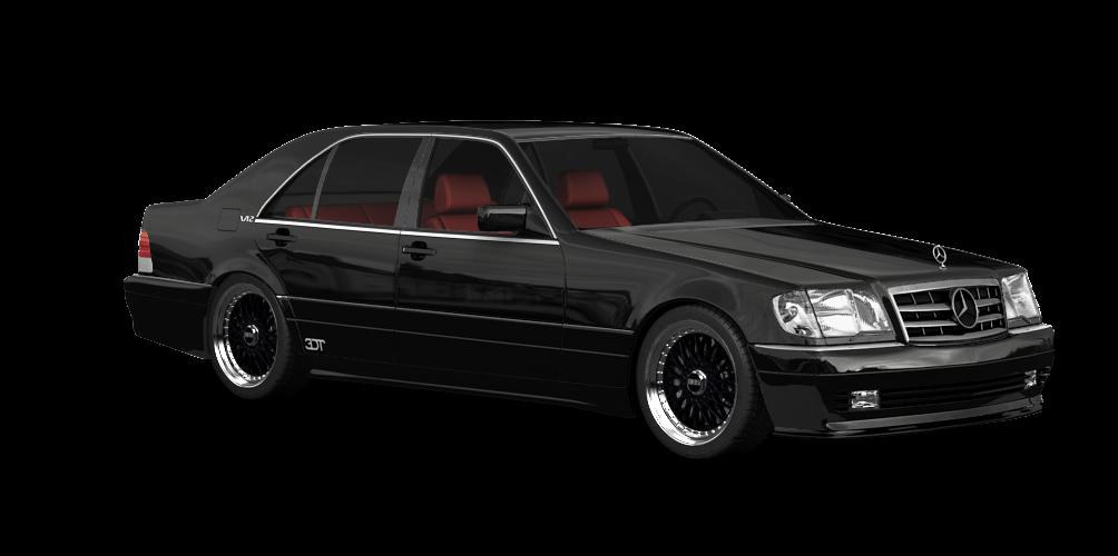 Mercedes S Class (W140)'92