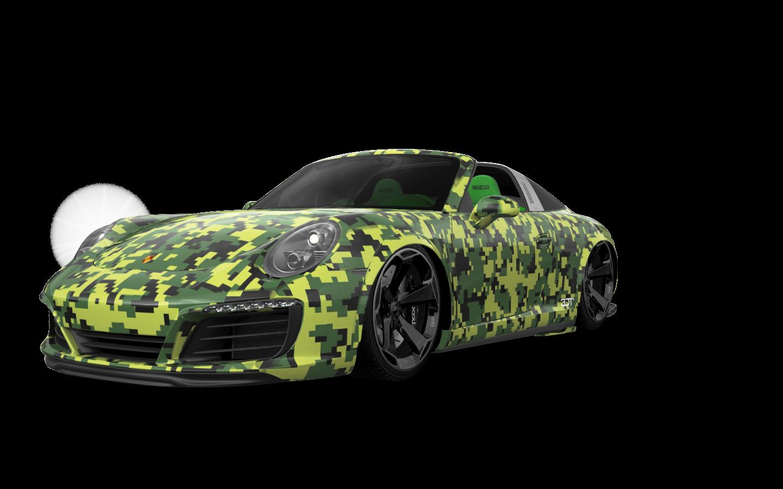 Porsche 911 Carrera Targa top 2014 tuning