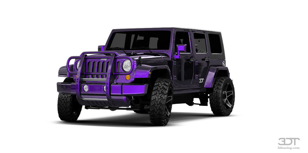 Jeep Wrangler Paint >> 3DTuning of Jeep Wrangler Unlimited SUV 2108 3DTuning.com ...