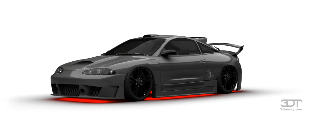 Mitsubishi Eclipse GSX Coupe 1995 tuning