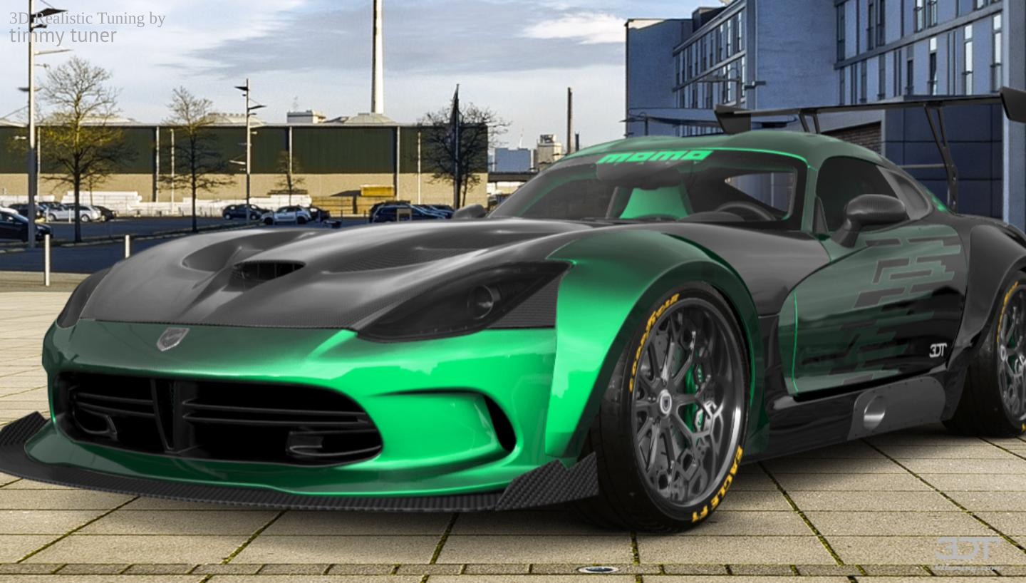My Perfect Dodge Srt Viper Gts
