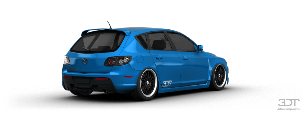 3dtuning Of Mazda 3 5 Door Hatchback 2004 3dtuning Com