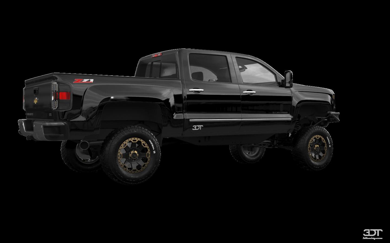 Chevrolet Silverado 1500 4 Door pickup truck 2016 tuning