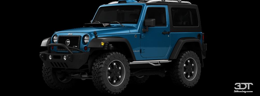 Jeep Wrangler Sport S SUV 2016 tuning