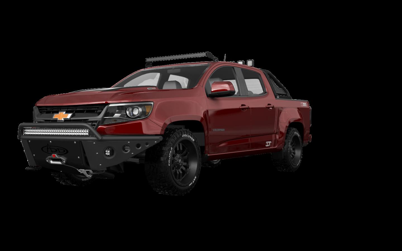 Chevrolet Colorado Crew Cab 4 Door pickup truck 2015 tuning