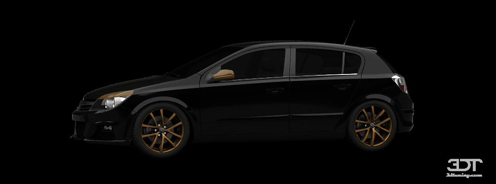 Opel Astra 5 Door Hatchback 2007 tuning