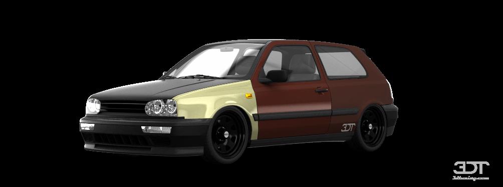 Volkswagen Golf 3 3 Door Hatchback 1991 tuning