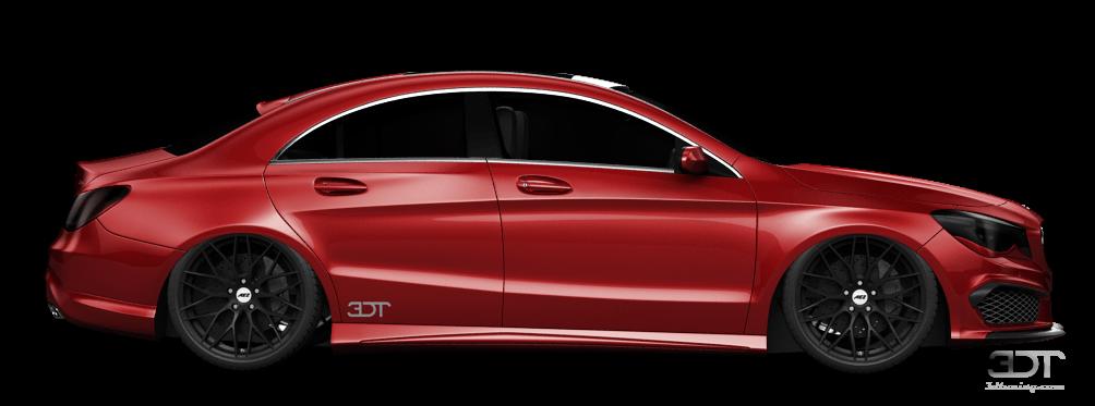 Mercedes CLA class 4 Door Coupe 2014 tuning