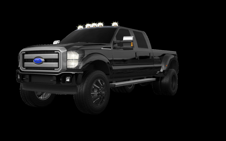 Ford F-350 DRW 4 Door pickup truck 2013 tuning